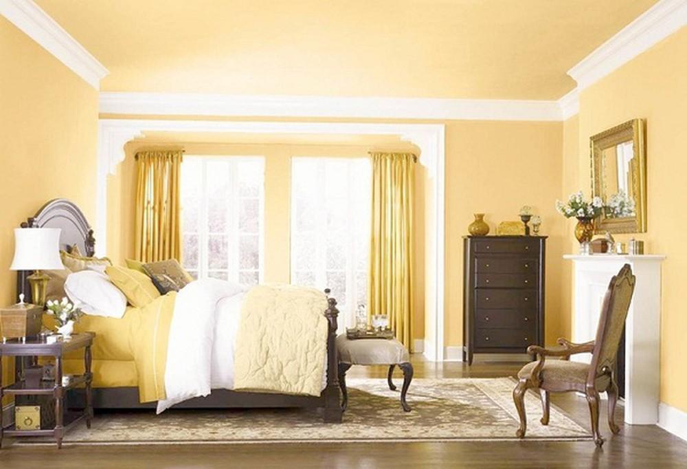 Phòng ngủ màu lông gà con