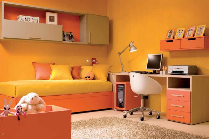 màu cam vàng