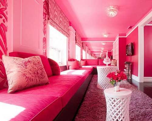 Những quy tắc khi bạn chọn sơn tường nhà màu hồng