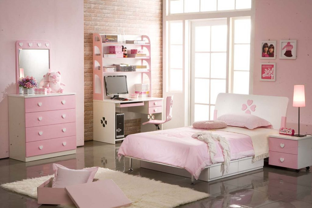 sơn nhà màu hồng 2