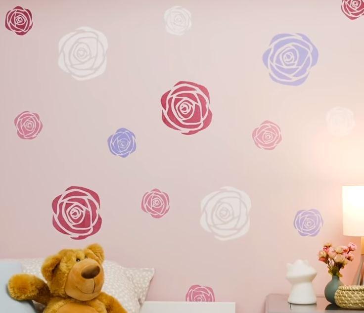 Bức tường hoa hồng cho những cô nàng nữ tính