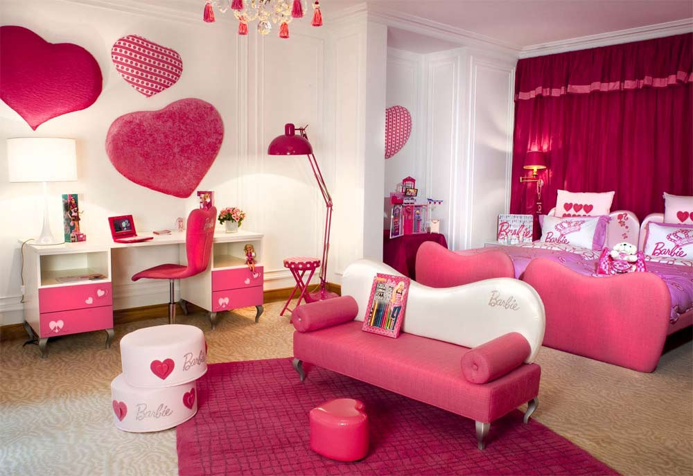 Sơn nhà màu hồng 7