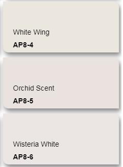 Mã màu trắng ngọc trai sơn Kova
