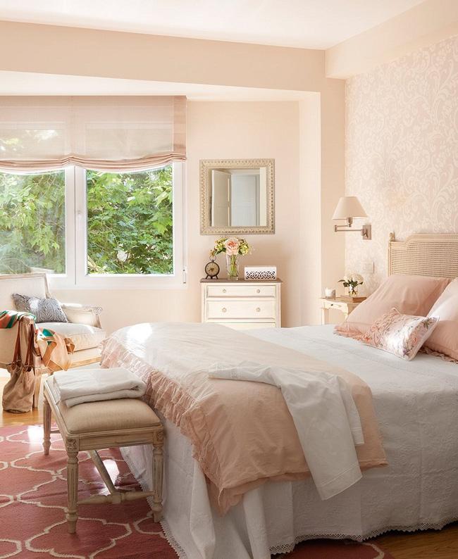 Căn phòng ngủ dễ dàng đánh gục trái tim thiếu nữ ngay từ ánh nhìn đầu tiên.