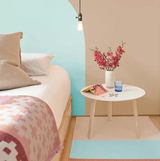 Màu sơn nhà năm 2021: Màu đất nung và màu xanh lam
